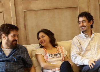 Sergio Abreu, Cecilia Siqueira, Fernando de Lima  - Photo: Eduardo Sardinha